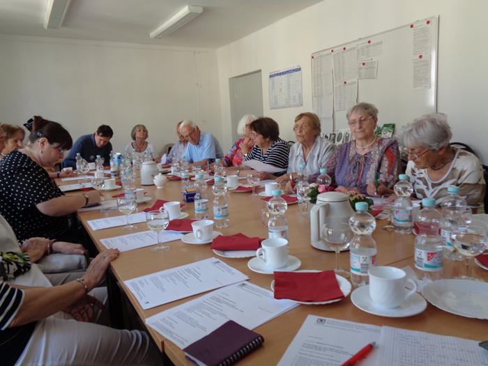 VVN-BdA Rostock Mitgliederversammlung